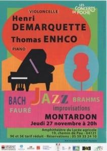 Thomas Enhco et Henri Demarquette