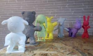 Farandole de doudous 3D